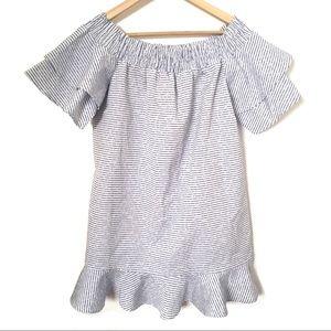 Romeo and Juliet Couture / Striped Mini Dress / L